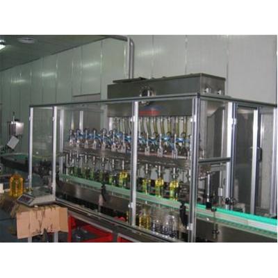 Maszyna do liniowego napełniania butelek