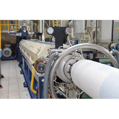 Linia do produkcji mat i rur termoizolacyjnych