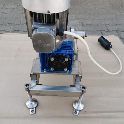 Pompa do miodu 400V (ssąco-tłocząca)  z płaszem