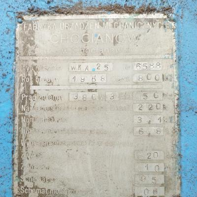 Wiertarka kolumnowa WKA 25-NR