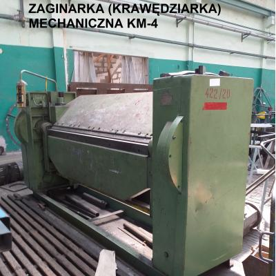 Zaginarka mechaniczna KM-4