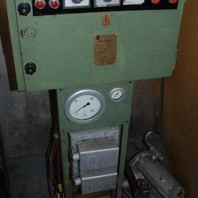 Agregat wodno-elektryczny do płyt grzewczych pras