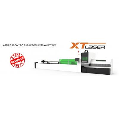 Laser fibrowy do rur i profili XTC - 60020T 2kW