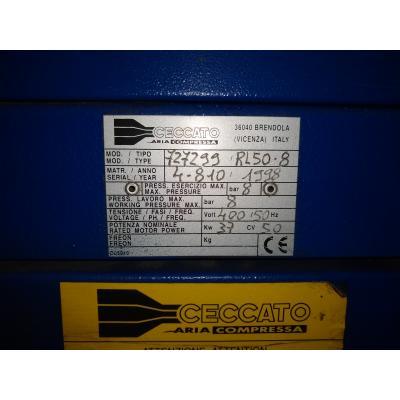 Kompresor Ceccato RL50 z osuszaczem i zbiornikiem