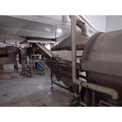 Linia produkcyjna do blanszowania owców i warzyw