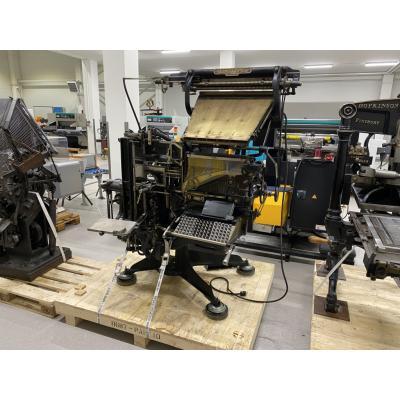 Linotyp urządzenie do maszynowego składu tekstów