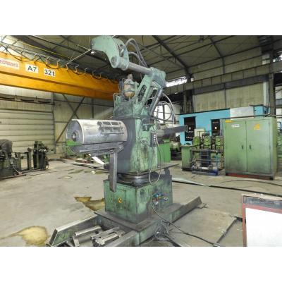 Linia do produkcji kształtowników 126x4,0mm