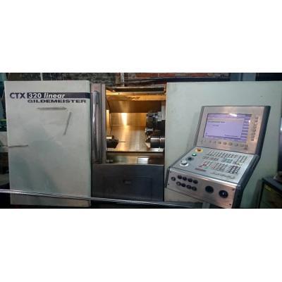 Centrum tokarskie CNC GILDEMEISTER CTX 320 LINEAR