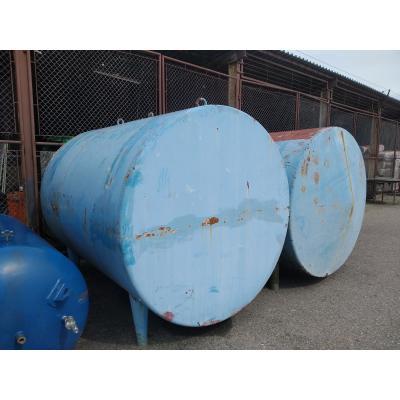 Zbiornik nierdzewny 5.000 l z płaszczem stalowym