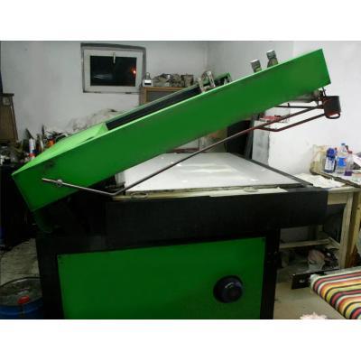APED 2000 maszyna do sitodruku półautomat B2, laki