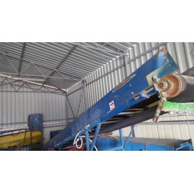 Taśmociąg 8 m, 1,1 kW