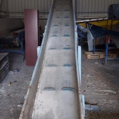 Taśmociąg 6,2 m, 1,1 kW