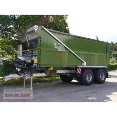 Fliegl Abschiebewagen ASW 281 GreenTec 45 m³ ALU