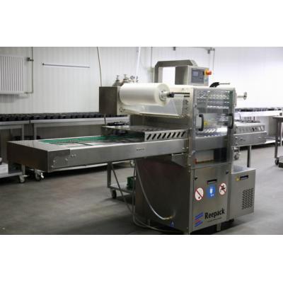 Traysealer maszyna do pakowania na tackach