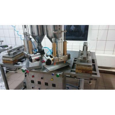 Maszyna do produkcji rurek waflowych