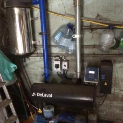 Pompe à vide Delaval DVP 1400 F