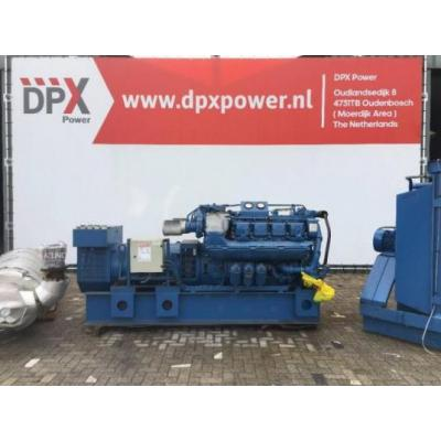 MTU  8V396 - 625 kVA Generator - DPX-11054
