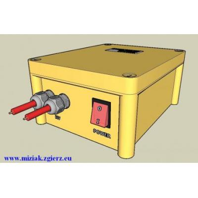 Neutralizator ładunków, dejonizator, zasilacz