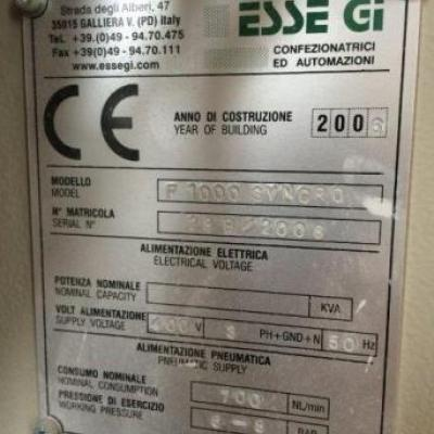 Pakowarka automatyczna FFS