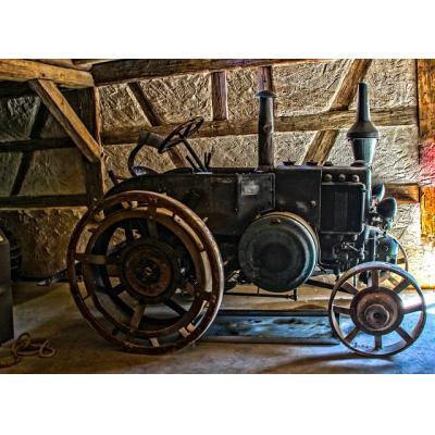 Parę słów o historii ciągników, traktorów